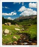 West Fork Basin and Precipice Peak, Uncompahgre Wilderness, Colorado, 2012