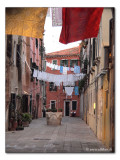 Waesche / Biancheria / Laundry - Corte de le Colonne (6864)