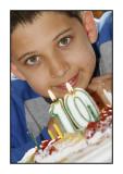Birthday boy, April 2010
