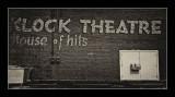 Klock Theater Sign