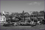 San Fransico Painted Ladies Victorian  Homes