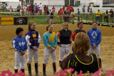 Jockeys at Pimlico Race Track
