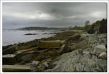 New Hampshire coast line near Portsmouth Light House