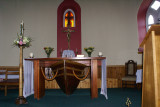 boat hull altar