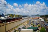 Panama Canal view