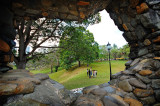 look through in the park