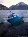 Silvia aground
