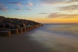 Sunrise at Fort Fisher, NC