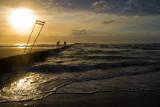 Fishermen at Wrightsville Beach