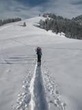 Skitour zum Chruz