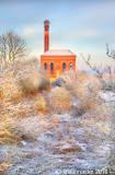 1611-frozen water-tower, Worksop, Notts