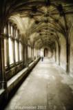 1711-Lacock Abbey cloisters