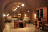 The caves at Thomas George Estates winery
