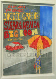 Jackie's original art, created specifically for the Chico shows (Photographed with permission)