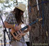 Ben Jax, with John Staedler's band