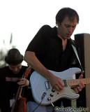 Brian Gravy Asher on guitar