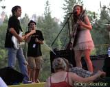 Brian Gravy Asher (from left), Matt Stratton, Alli Battaglia