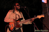 Prezident Brown's bassist Devon Bradshaw