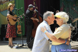 Couple dances to Rani Arbo and Daisy Mayhem - Pine Tree Stage