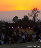 Sunset over Tuscan Ridge