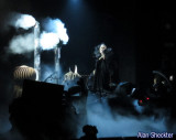 Lady Gaga, in Skeletor makeup and costume, opens the show with Marry The Night