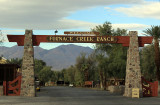 Furnace Creek - one of two tiny villages within the park, which is the size of Connecticut