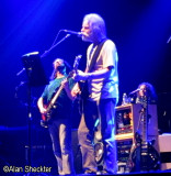 Bob Weir, flanked by John Kadlecik and Sunshine Becker