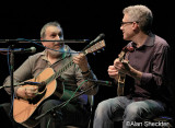 Barry Mitterhoff sits in for a song during Bromberg's set