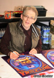 A gracious Jack Casady signs some posters