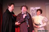 William Petree as Dr. Hercule Molineaux, Richard Cross as Bassinet, Marchia Ryborz as Yvonne Molineaux