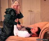 Christine Goddard as Suzanne Aubin, William Petree as Dr. Hercule Molineaux
