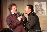 Richard Cross (left) as Bassinet, Eric Ricketts as Gustav Aubin