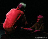 Ray Manzarek chats with a fan