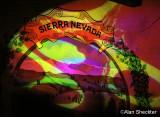 Sierra Nevada mural - in a new light