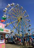 The iconic Ferris Wheel