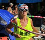 No. 1 sport at summer festivals; skull sunglasses are optional