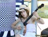 Impromptu banjo strumming