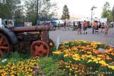 Fairgrounds 4H tribute tractor meets festivalgoers