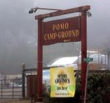 Pomo Campground, near Fort Bragg