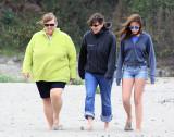 Donna, Becky, Anni, Caspar Beach