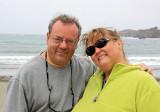 Alan and Donna, Caspar Beach