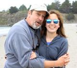 Tim and Anni, Caspar Beach