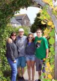 Family photo, Mendocino