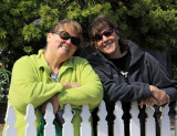Donna and Becky, Mendocino