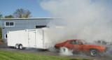 Tow car burnout under load 3