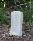 Willie Browne Trail - Headstone of Spearing