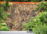 Landslide from Expressway