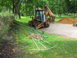PennDot and Septa work on the surroundings - May & June 2012