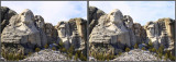 Mt. Rushmore - 3D Stereo Photo