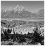 Tetons from Snake River Overlook